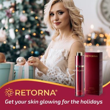 Реторна крем — сделайте вашу кожу сияющей на праздники!